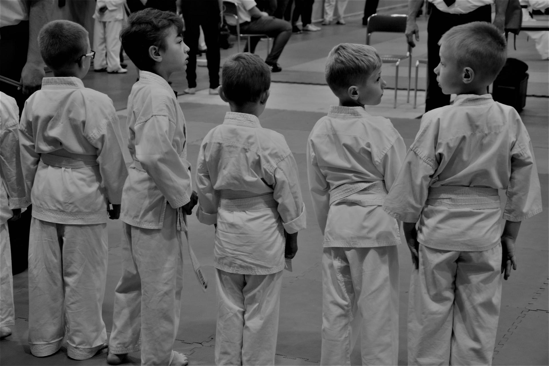Karate - fotoreportaż. Żukowo, niedzielne przedpołudnie