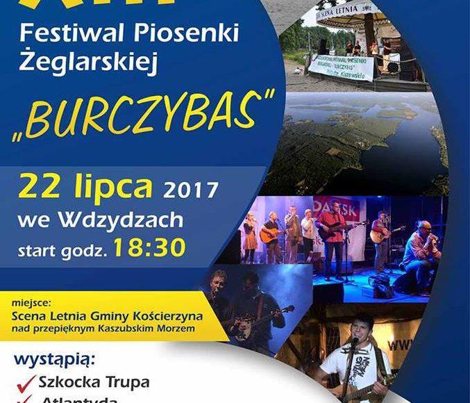Burczybas.Festiwal Piosenki Żeglarskiej. Wdzydze Kiszewskie