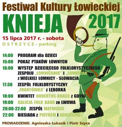 Festiwal Kultury Łowieckiej KNIEJA 2017. Ostrzyce