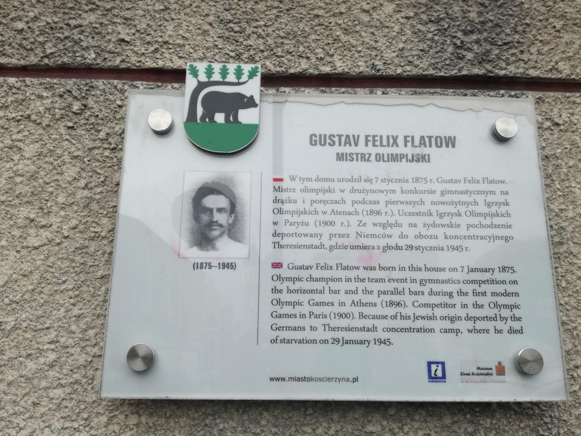 Gustaw Felix Flatow. Mistrz olimpijski z Kościerzyny 10