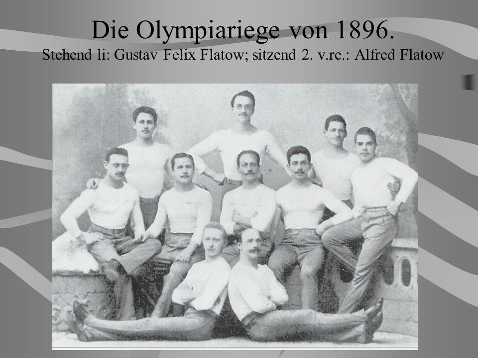 Gustaw Felix Flatow. Mistrz olimpijski z Kościerzyny 1