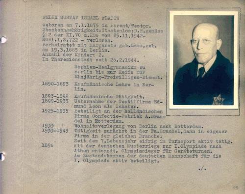 Gustaw Felix Flatow. Mistrz olimpijski z Kościerzyny 4