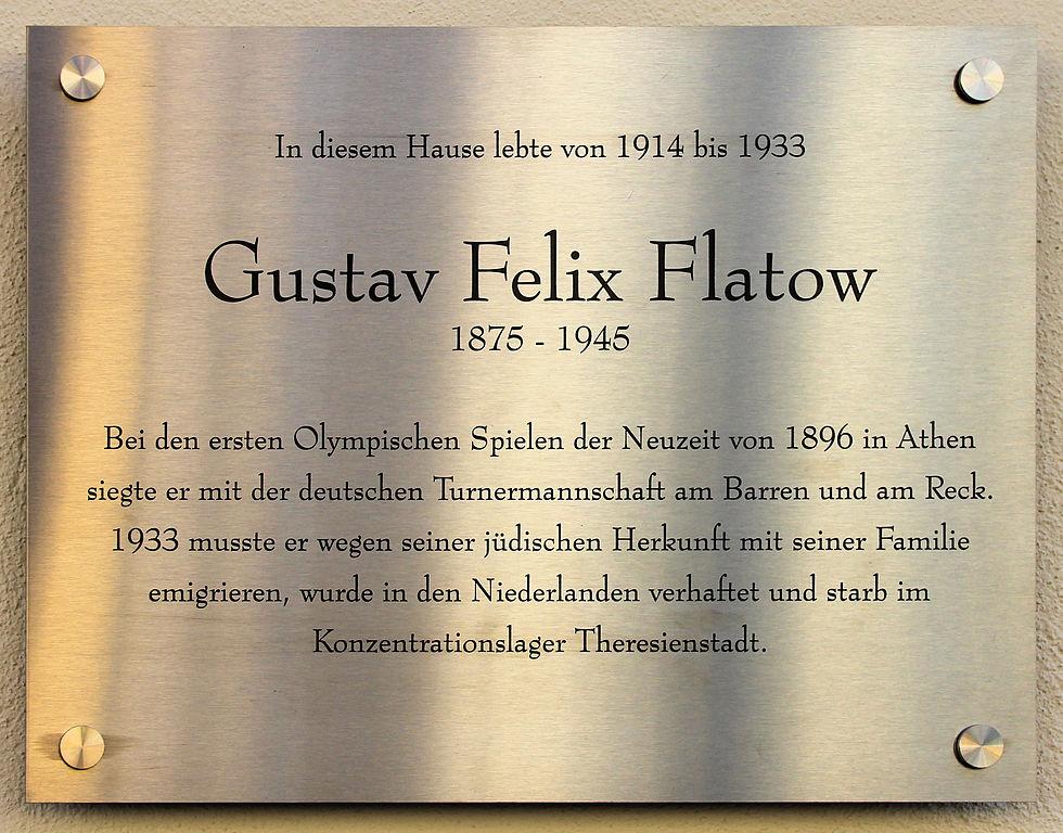 Gustaw Felix Flatow. Mistrz olimpijski z Kościerzyny 8