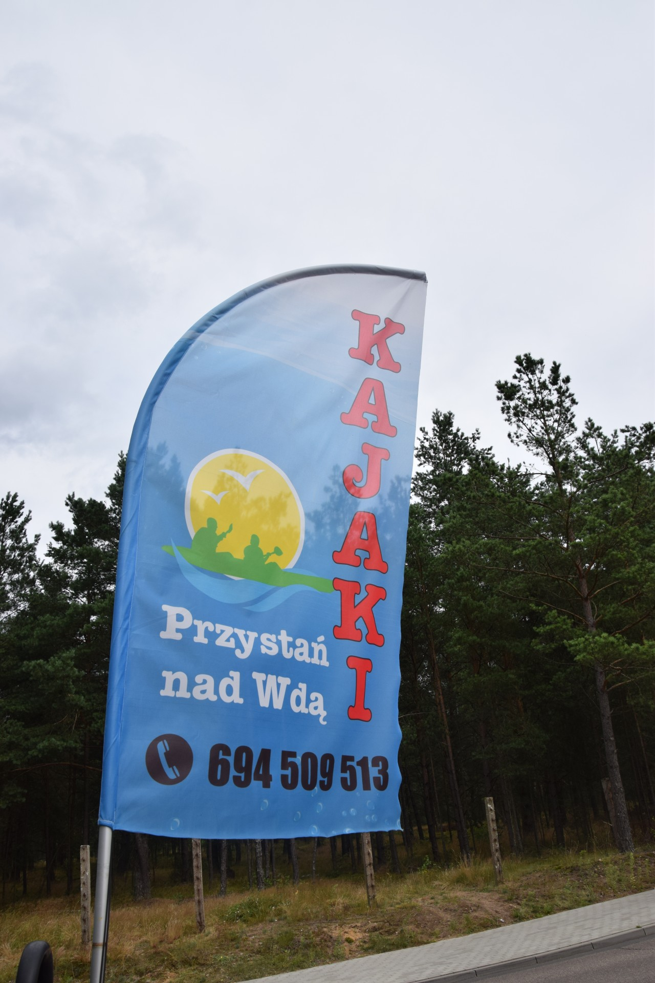 Kajak, Wda, Sałata. Relacja ze spływu 4