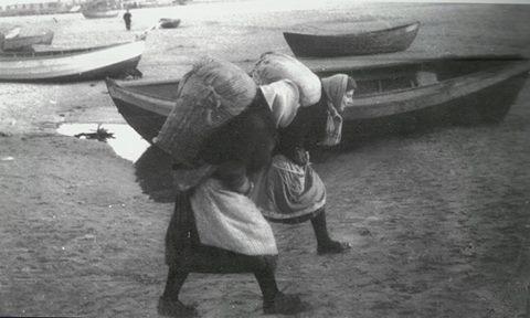 Fotograficzna podróż do przeszłości: Rybacy z Gdyni