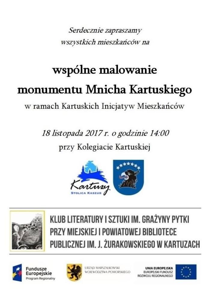 Monument Mnicha Kartuskiego - już niebawem przy kolegiacie 1