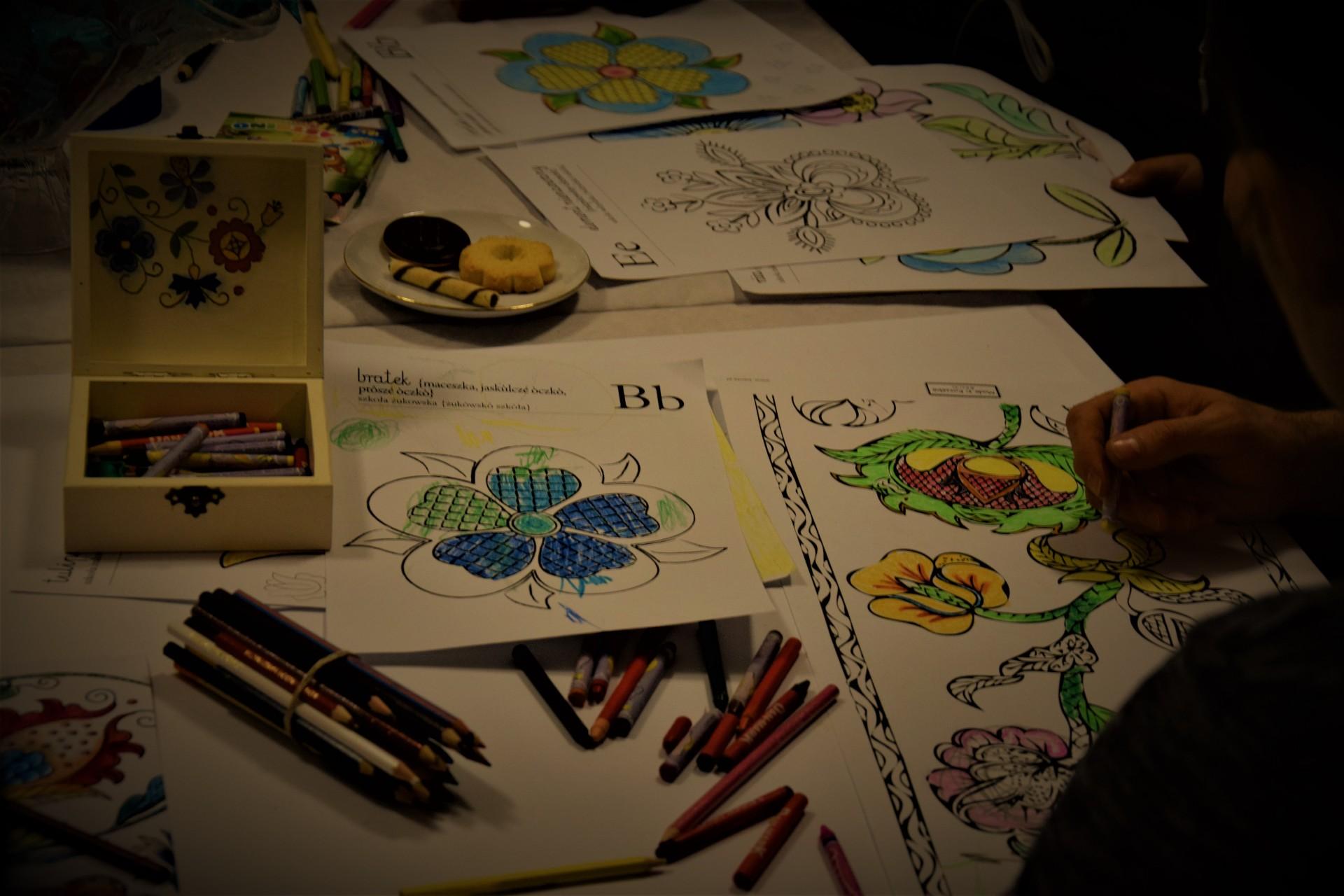 Kaszubskie kolorowanki. Spotkajmy się przy kredce [FOTOREPORTAŻ] 7