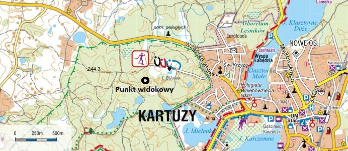 Biegówki na Kaszubach. W Kartuzach są przygotowane trasy 14