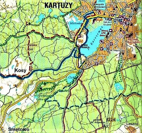Jezioro Ciche k. Kartuz - otwieramy gęby w nabożeństwie 1
