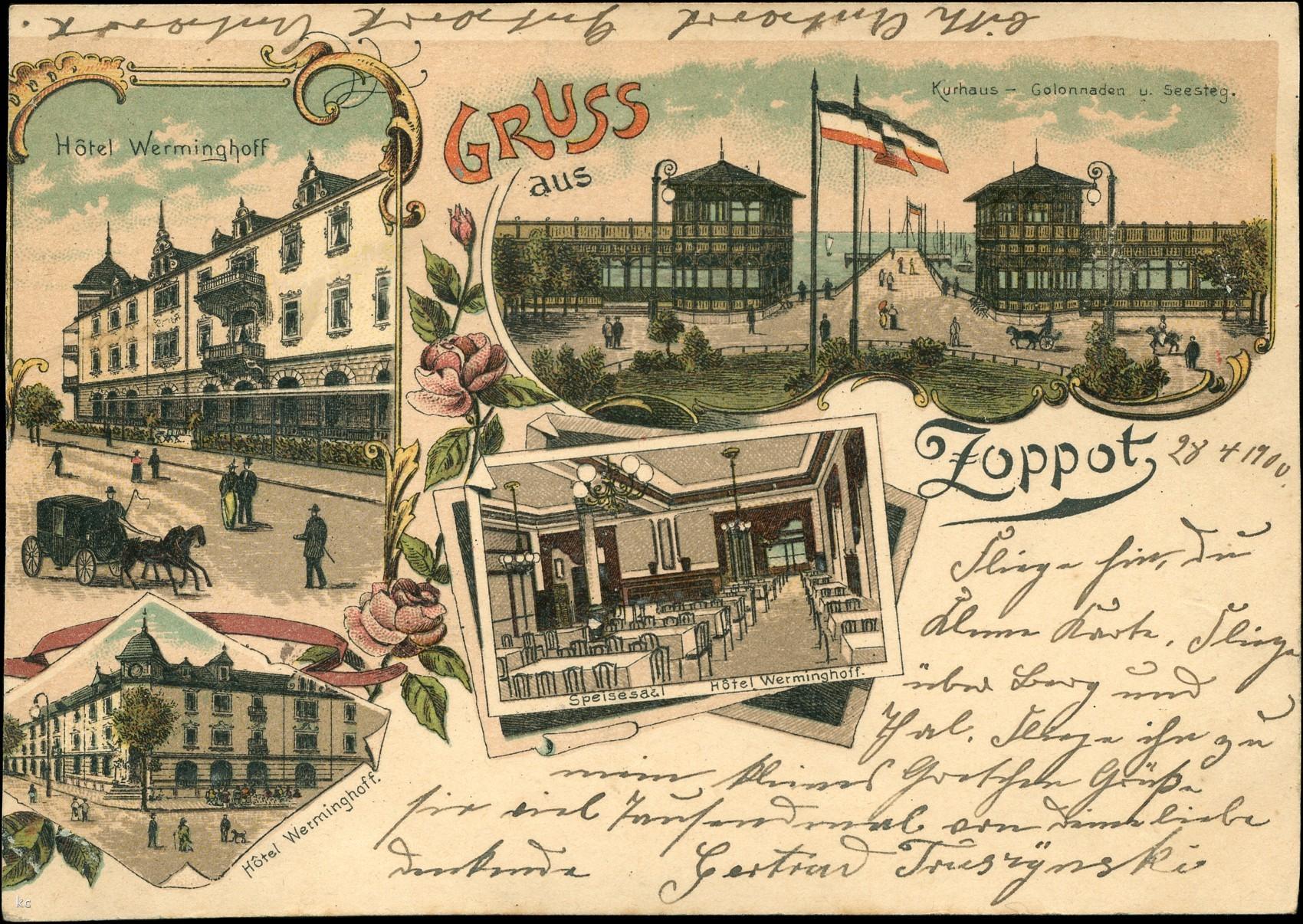 Sopot 1909. Miasto kaszubskie 1