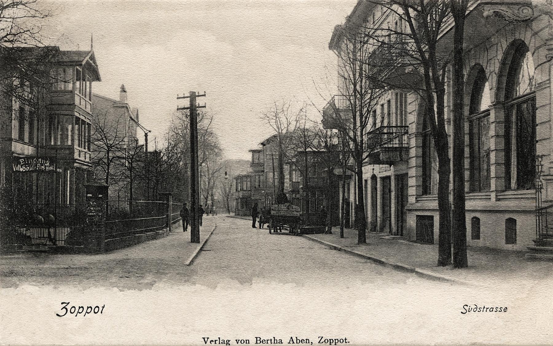 Sopot 1909. Miasto kaszubskie