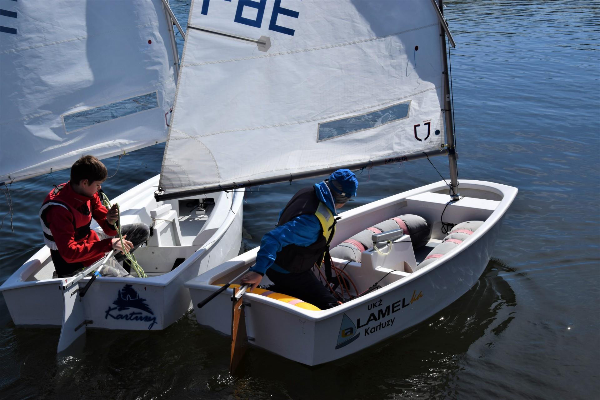 Żagle na Kaszubach. Dzieciaki na łódkach [FOTOREPORTAŻ] 6