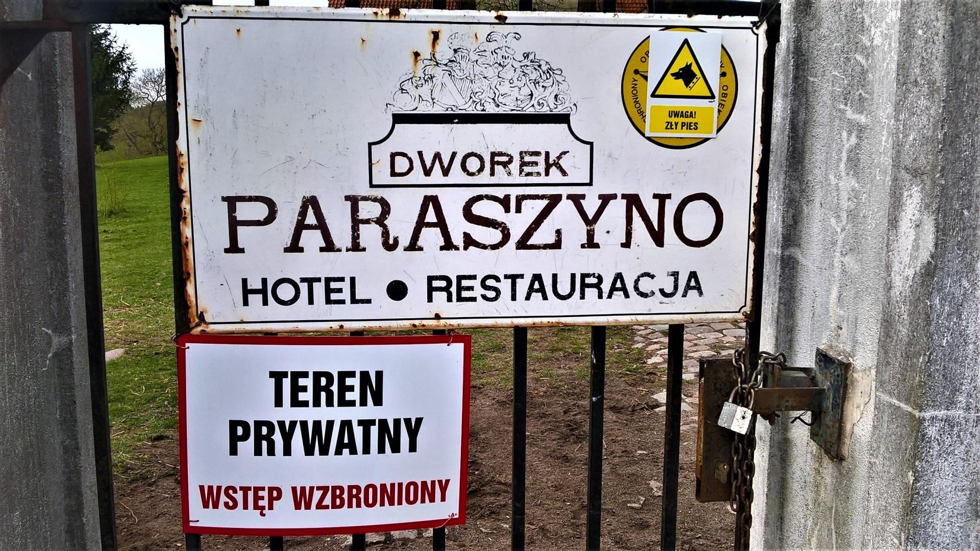 Ratujący, ojcowizna, partyzanci. Paraszyno - Barłomino 7