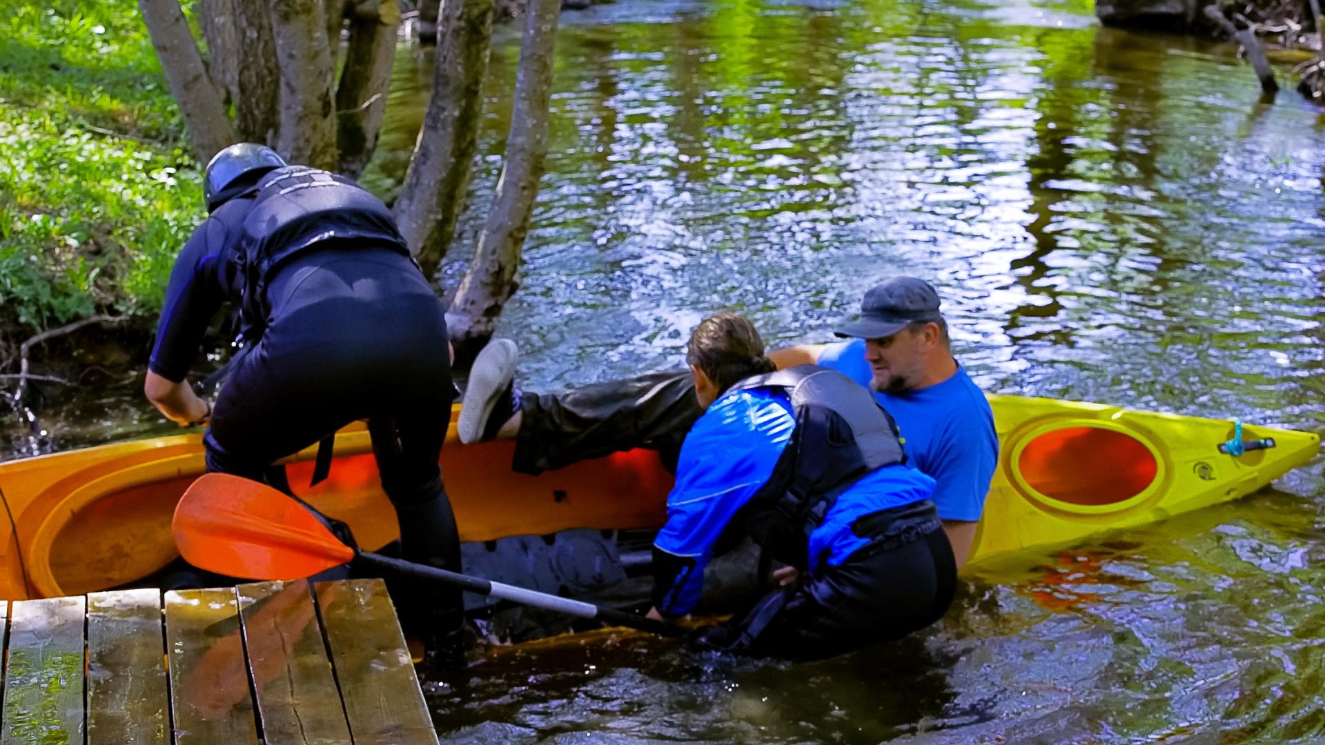 Spływ kajakowy Hydroaktywni 2018. Spłynęliśmy z klimatem  [FOTORELACJA, FILM] 26