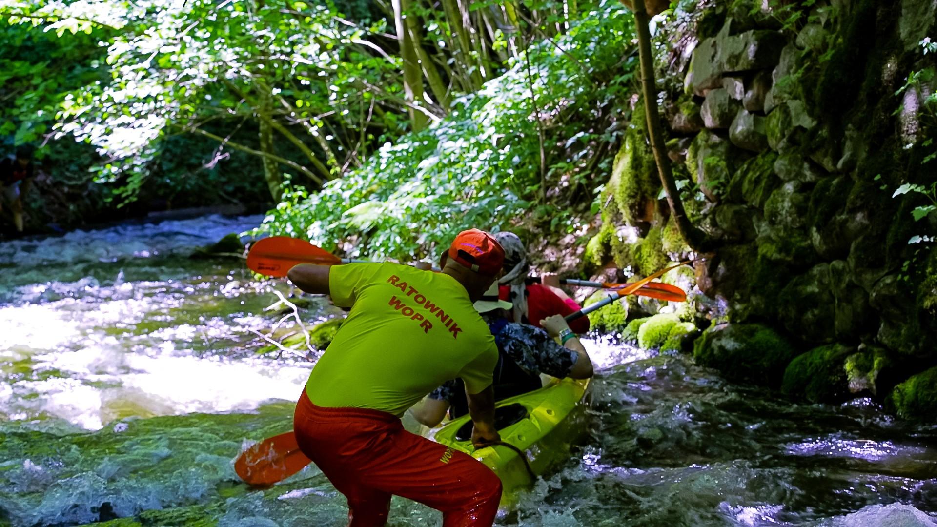 Spływ kajakowy Hydroaktywni 2018. Spłynęliśmy z klimatem  [FOTORELACJA, FILM] 34