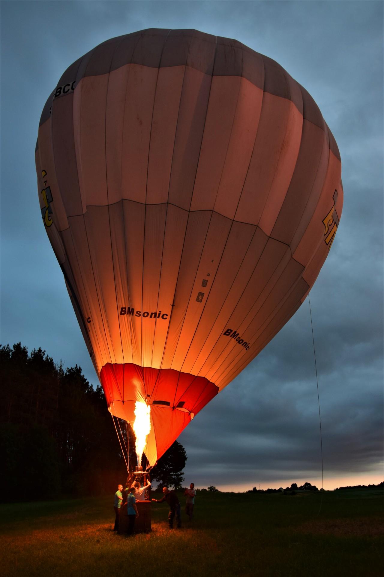 Balonem nad Kaszubami. Naiwny, dziecięcy zachwyt [GALERIA ZDJĘĆ] 27