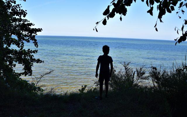 Cicha kameralna plaża w Osłoninie i Rzucewie. Plażing chodzony 11