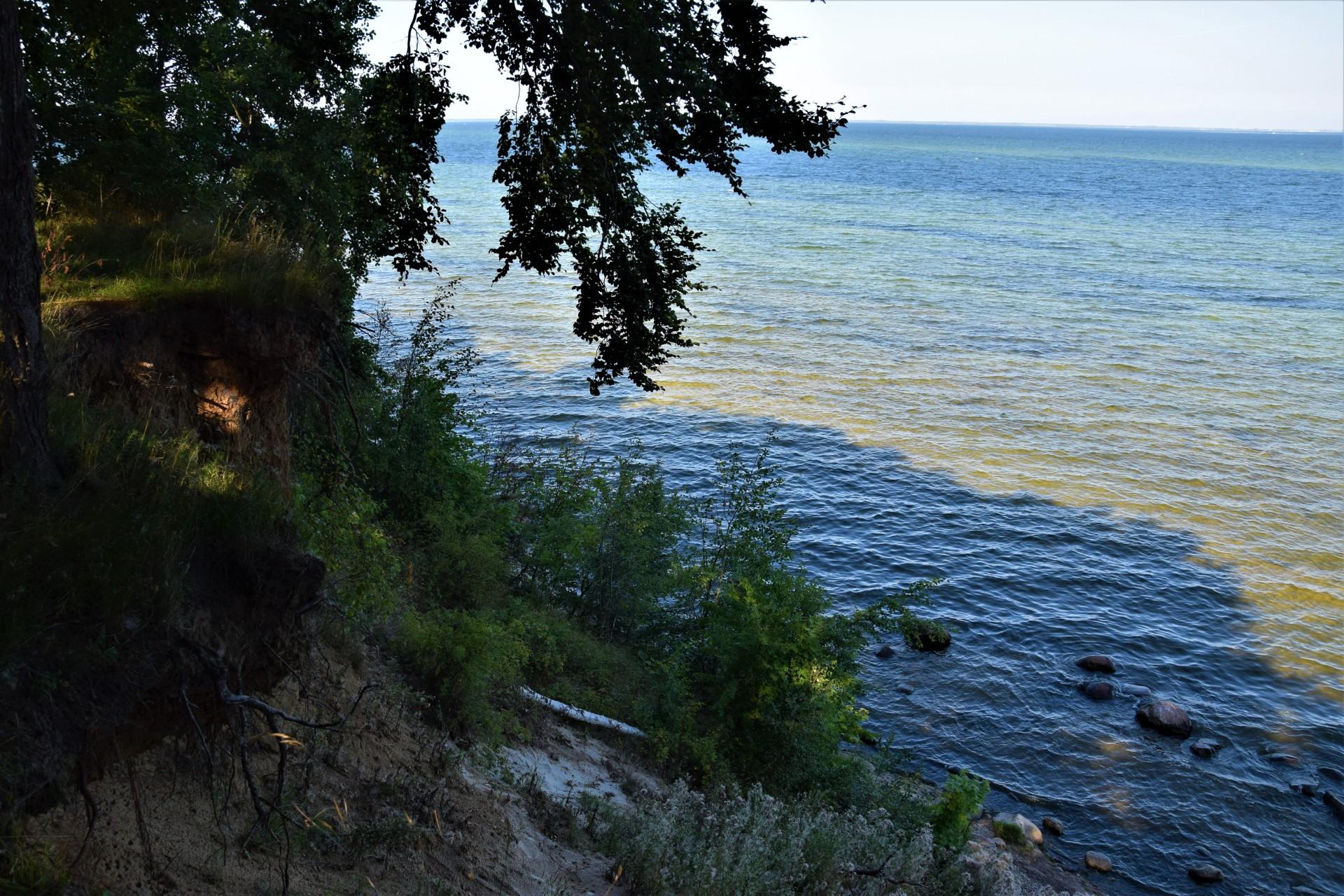 Cicha kameralna plaża w Osłoninie i Rzucewie. Plażing chodzony 13
