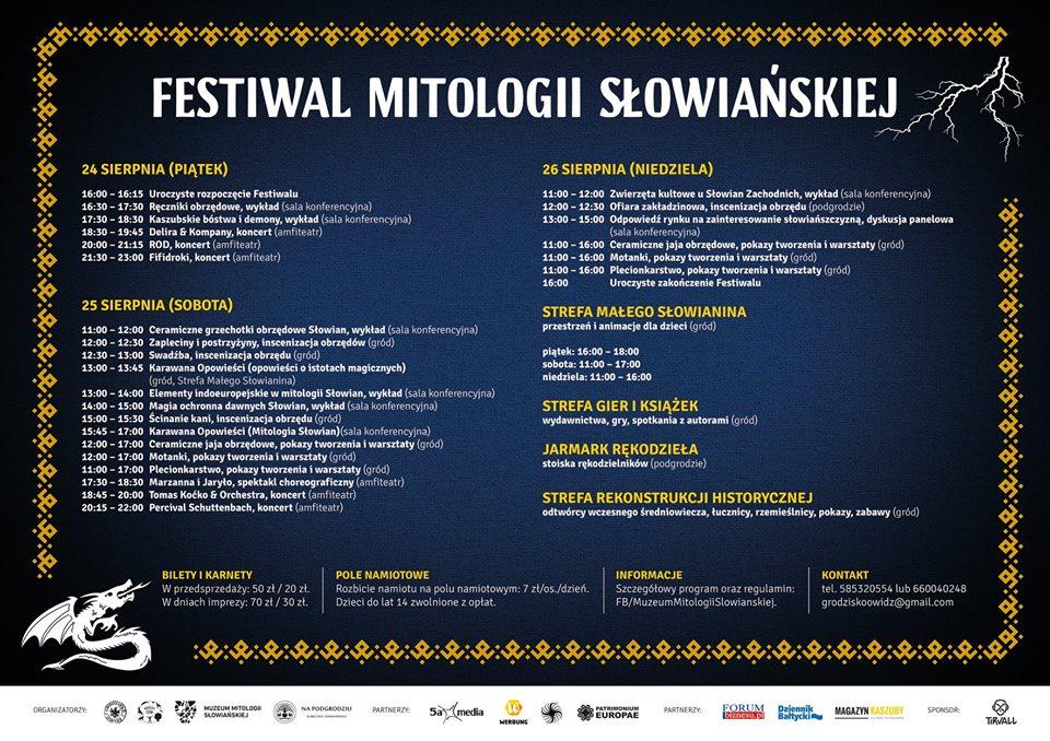 Festiwal Mitologii Słowiańskiej w Owidzu - polecamy! [NASZ PATRONAT]