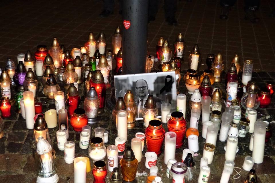 Kaszubi żegnają prezydenta Pawła Adamowicza 2