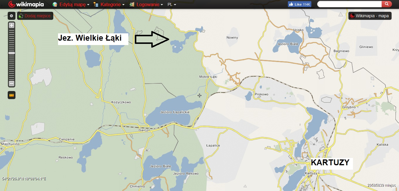 Kaszubskie jeziora. Subiektywny przegląd najlepszych miejsc [MAPY, GALERIA] 9