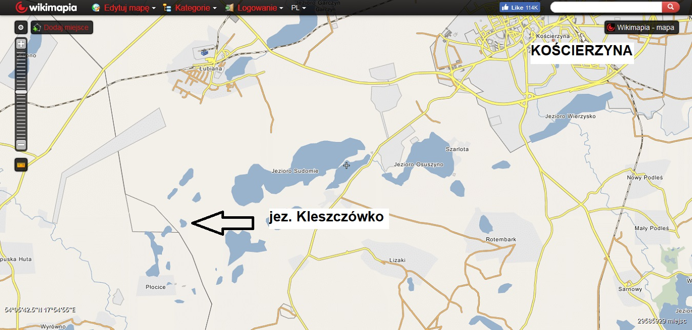 Kaszubskie jeziora. Subiektywny przegląd najlepszych miejsc [MAPY, GALERIA] 10