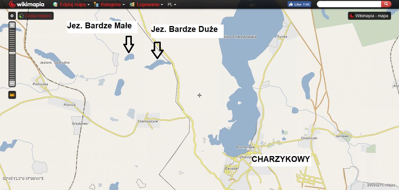 Kaszubskie jeziora. Subiektywny przegląd najlepszych miejsc [MAPY, GALERIA] 14