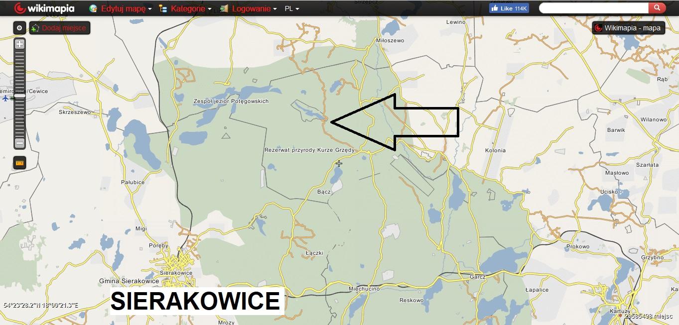 Kaszubskie jeziora. Subiektywny przegląd najlepszych miejsc [MAPY, GALERIA] 6