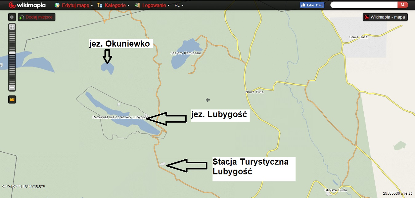 Kaszubskie jeziora. Subiektywny przegląd najlepszych miejsc [MAPY, GALERIA] 7