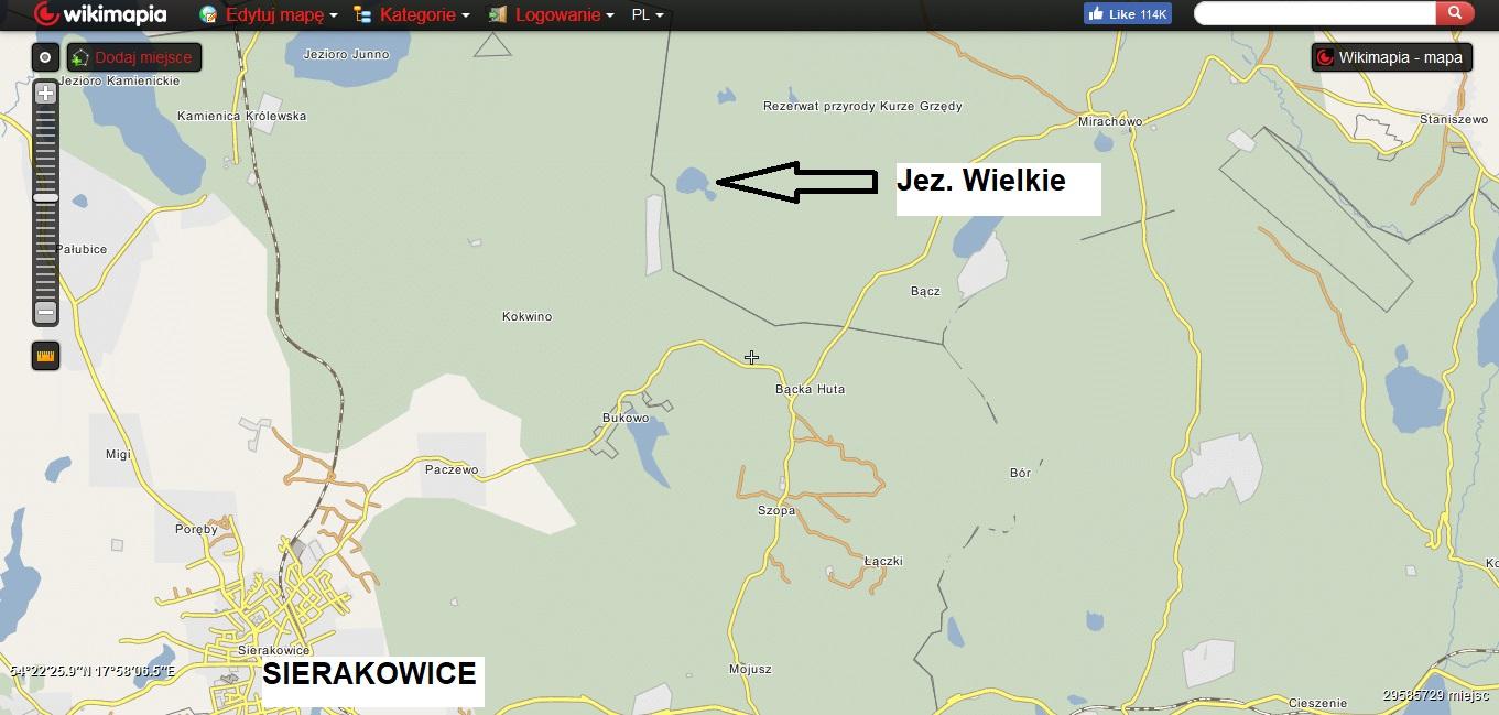 Kaszubskie jeziora. Subiektywny przegląd najlepszych miejsc [MAPY, GALERIA] 8