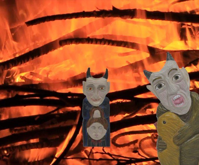 Sabaty czarownic, konszachty z diabłami. Cykl filmów o kaszubskich duchach i demonach 2