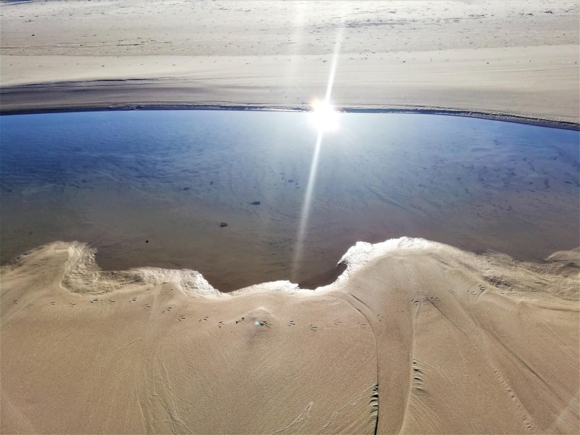Plaża we władaniu przyrody. Lubiatowo - Kopalino, listopad 2019 3