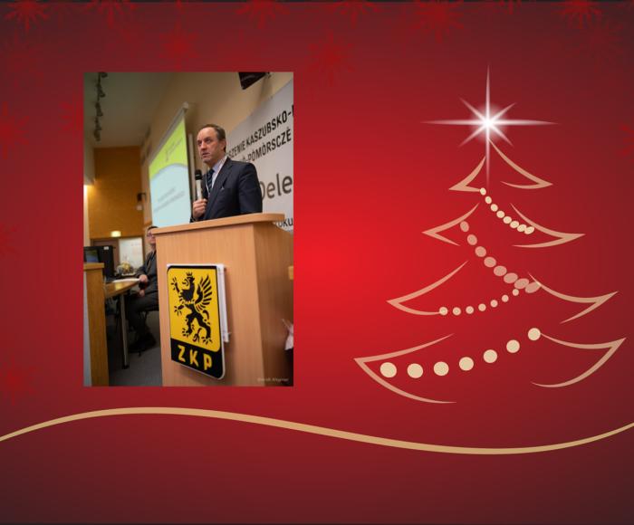 Przewodniczący Sejmiku i Marszałek składają życzenia Czytelnikom Magazynu Kaszuby 1