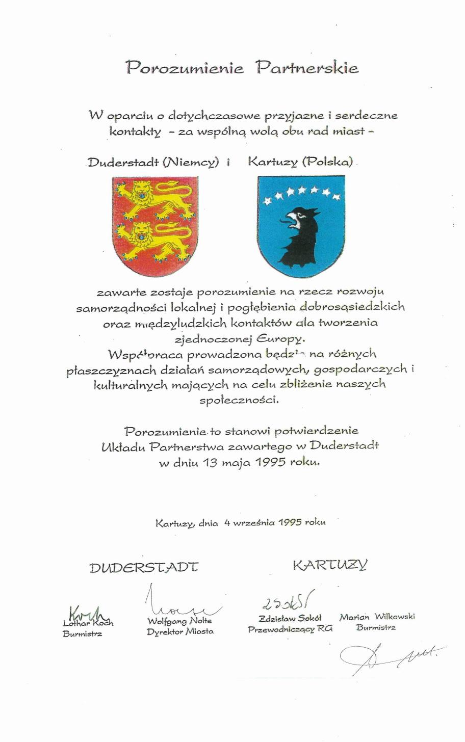 25-lecie partnerstwa gminy Kartuzy i miasta Duderstadt 15