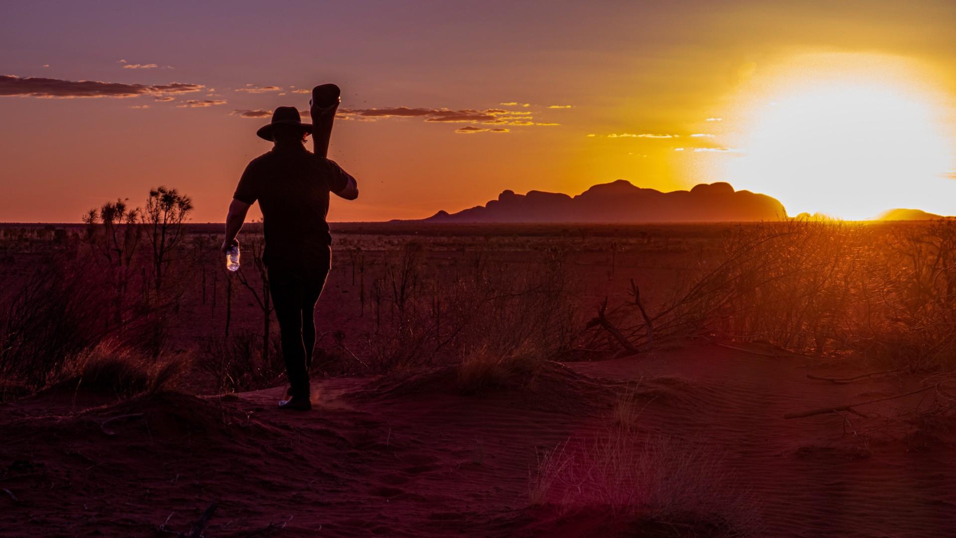 Uluru  - święta góra Aborygenów 1