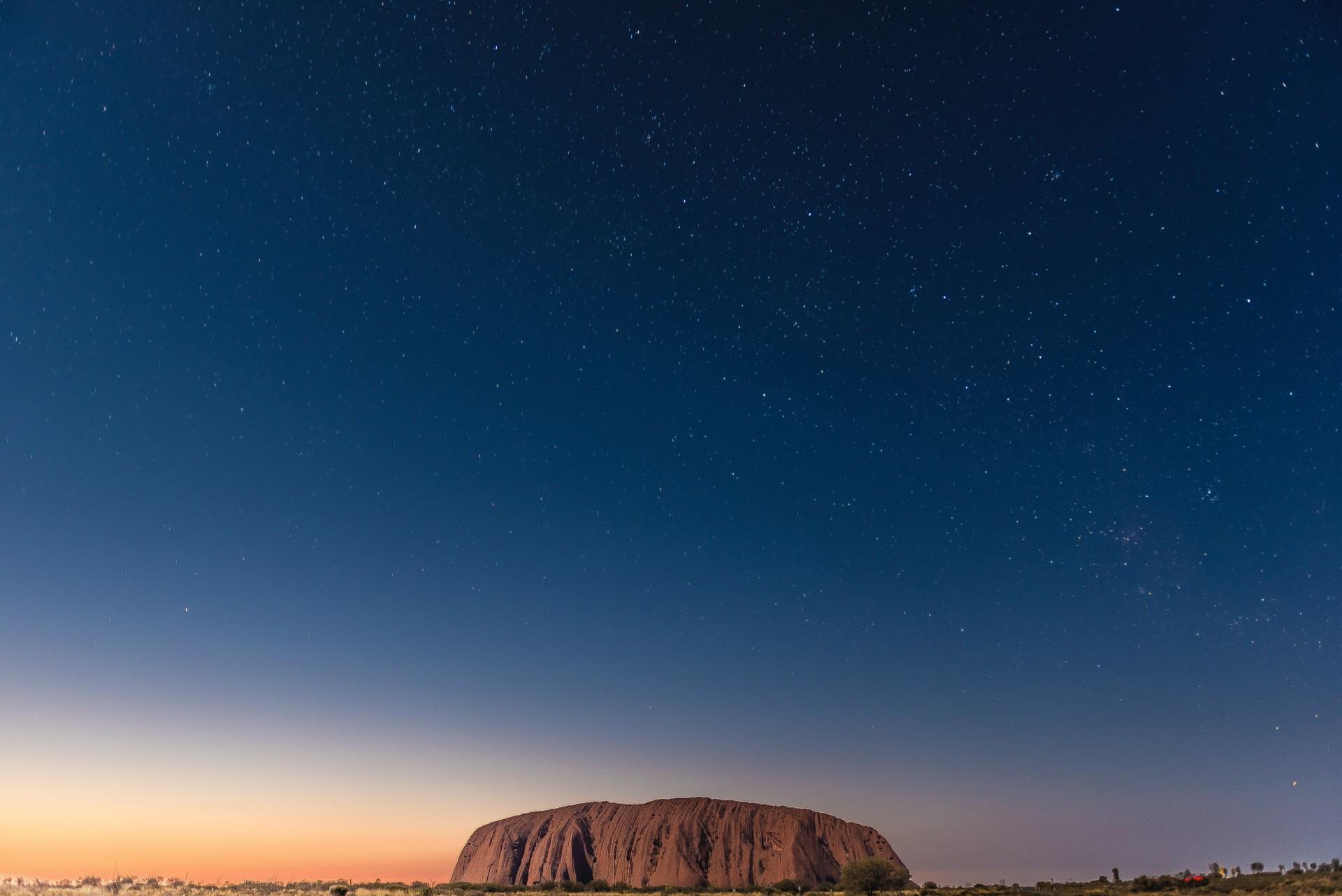 Uluru  - święta góra Aborygenów 2