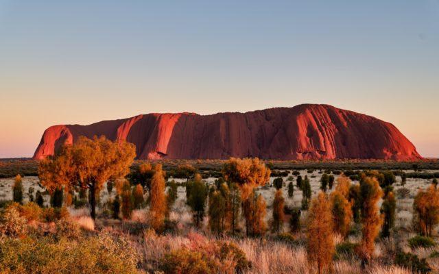 Uluru  - święta góra Aborygenów