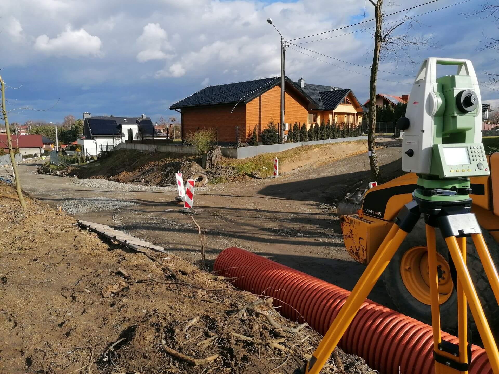 Geodezja i budowa nowego domu 1