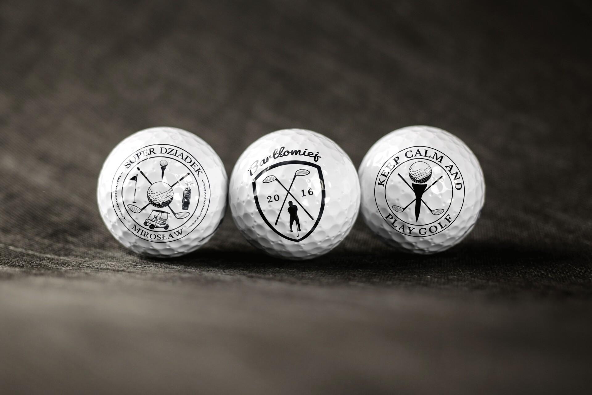 Piłki do golfa z logo - jaki prezent będzie najlepszy dla golfisty?