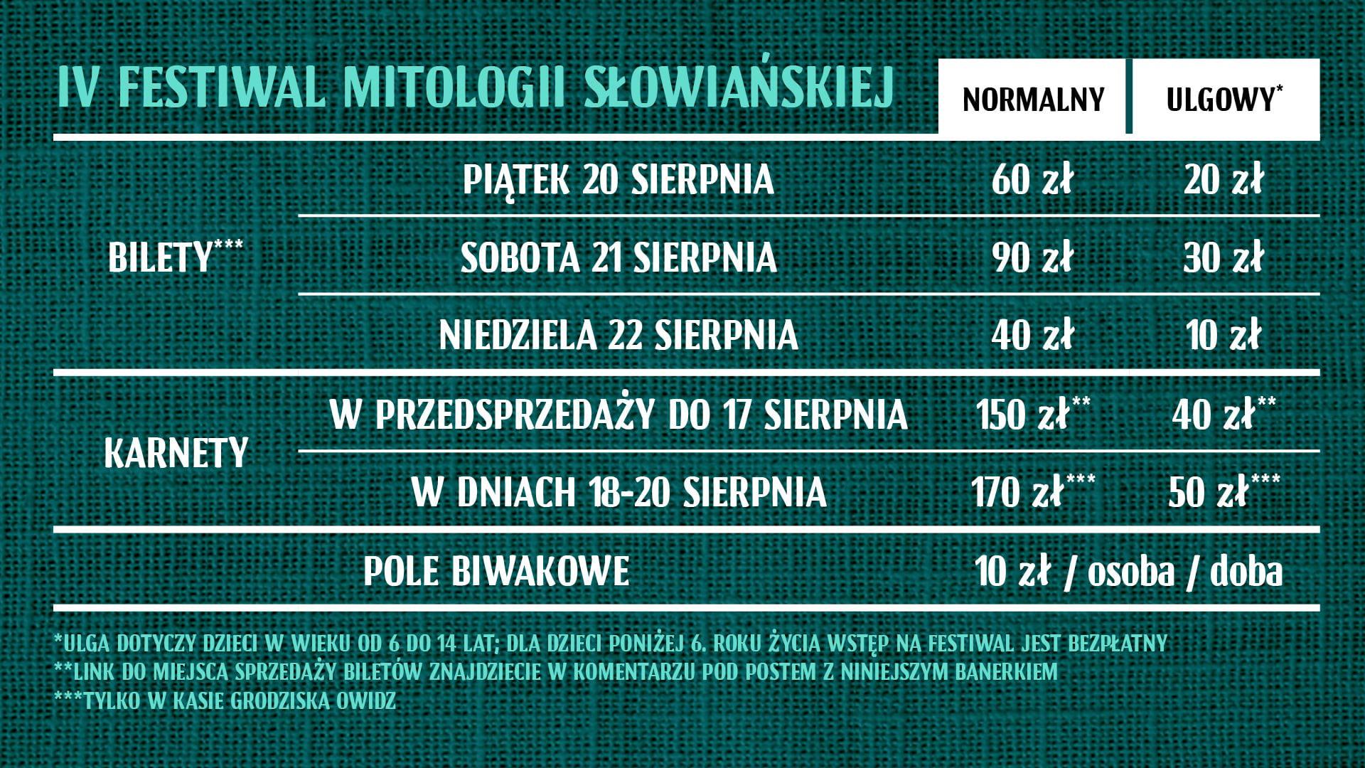 Poznaj swoje korzenie - zapraszamy na Festiwal Mitologii Słowiańskiej 3